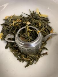 Groene thee met toevoeging