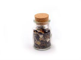 Glazenpot met kurk klein