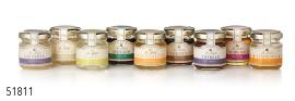 mini honing potjes verschillende smaken