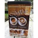 Bewaarblik koffie