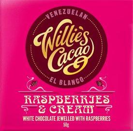 Willie's cacao Raspberries and Cream
