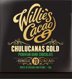 Willie's Cacao Chulucanas Goldlucanas Gold