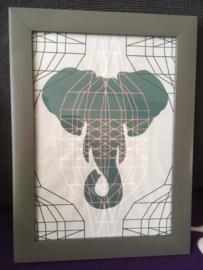 Paperart Olifant