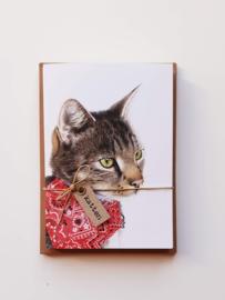 Voordelige sets dubbele kaarten katten
