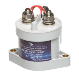 BS500 DUAL 12/24Volt 500Amp Battery Separator