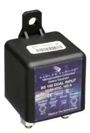 BS100 DUAL 12/24Volt 100Amp Battery Separator