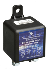 BS140DUAL 12/24Volt 140Amp Battery Separator