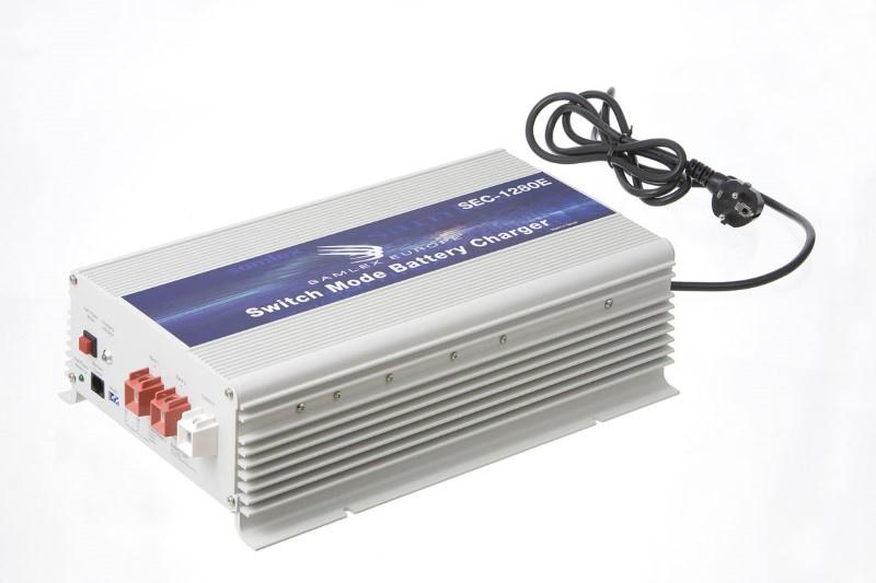 SEC-1280E 12V 80Amp accu lader