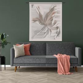 Wandkleed met abstracte tulp