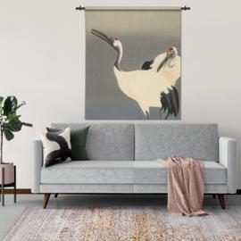 Wandkleed vogels