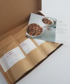 PowerKitchen Bakmix crumble glutenvrij 3 zakjes voor 2 personen