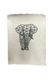 na design olifantenpoepposter olifant