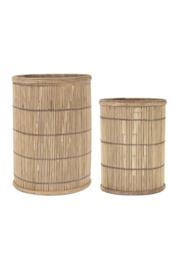 IBlaursen windlicht bamboo M