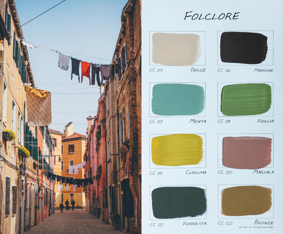 Kleurenkaart Folcore