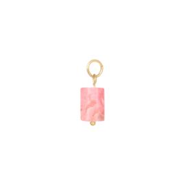 Bedel Tube Stone - Pink