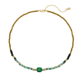 Ketting Natural Beauty - groen