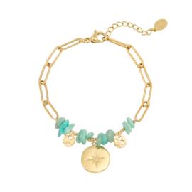 Armband Celeste - groen
