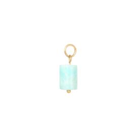 Bedel Tube Stone - Turquoise