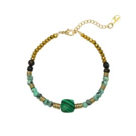 Armband Natural Beauty - groen