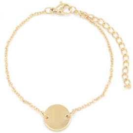 Armband coin - goud