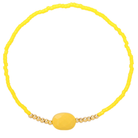 Armband Happy Color Yellow