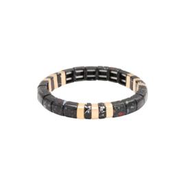 Armband Marbleous - zwart