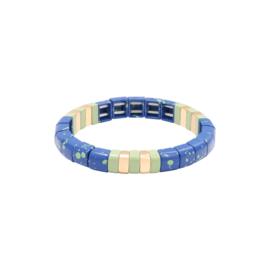 Armband Marbleous - blauw