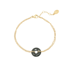 Armband Hooped - zwart
