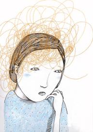 kaartje 'hersenspinsels'