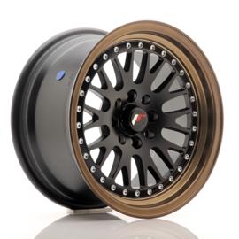 JR10 - Mat zwart/brons