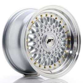 JR9 - Zilver (met goudkleurige bouten)