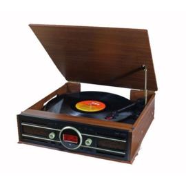Platenspeler met DAB+-radio en digitaliseer functie - Soundmaster