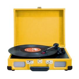 Kofferplatenspeler geel - Soundmaster