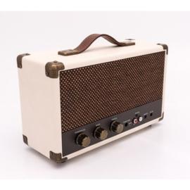 Nostalgische bluetooth speaker crème - GPO WESTWOOD