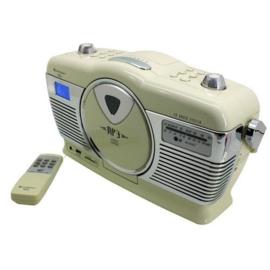 Retro-radio met CD-speler beige - Soundmaster