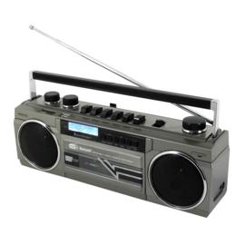 Retroradio in jaren '80 stijl met DAB+ en cassetterecorder - Soundmaster