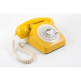 Seventies telefoon - geel