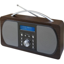 Nostalgische DAB+ (wekker)radio - SOUNDMASTER