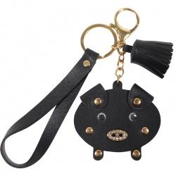 Sleutelhanger Pig Black