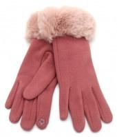 Fluffy Handschoenen Roze