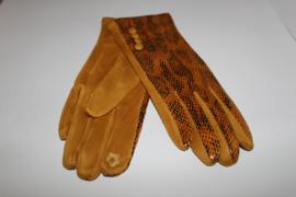 Handschoen Slang Oker
