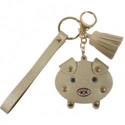Sleutelhanger Pig Gold