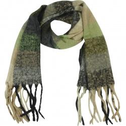 Sjaal Soft  Multi Grijs Groen