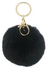 Sleutelhanger Fluffy Black