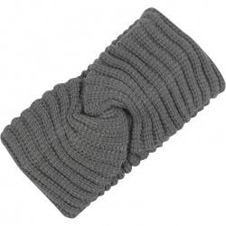 Headband Ribbed Grey
