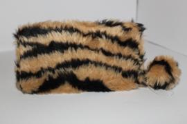 Soft Fake Fur Tiger Brown Portemonnee
