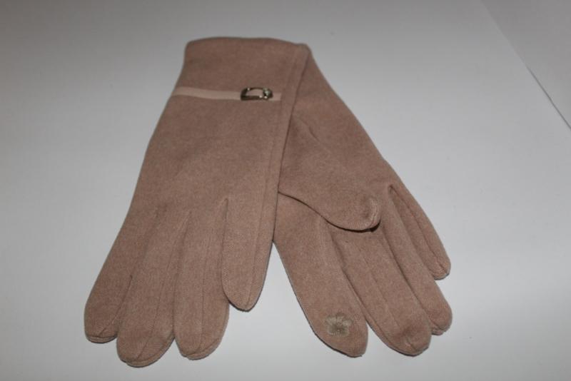 Handschoenen Beige Gesp