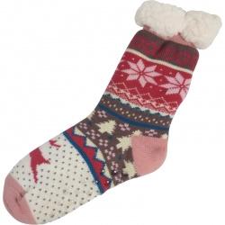 Kerstsokken Reindeer Roze