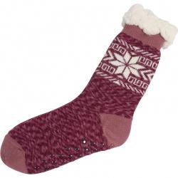 Kerstsokken Sneeuwvlok Oud Roze