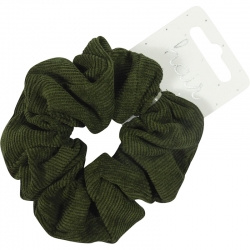 Scrunchie Rib Forest Green
